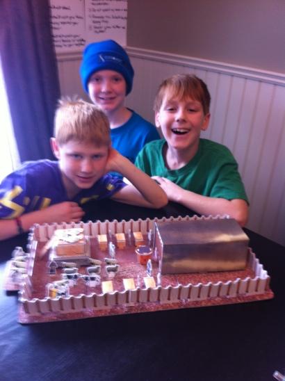 Tabernacle Built!